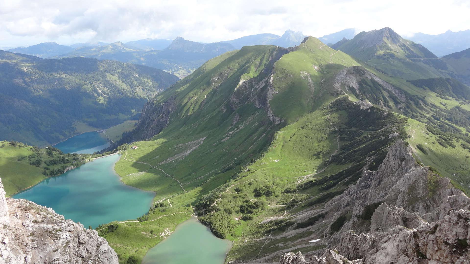 Klettersteig Lachenspitze : Bergtour: leilachspitze rote spitze steinkarspitze lachenspitze