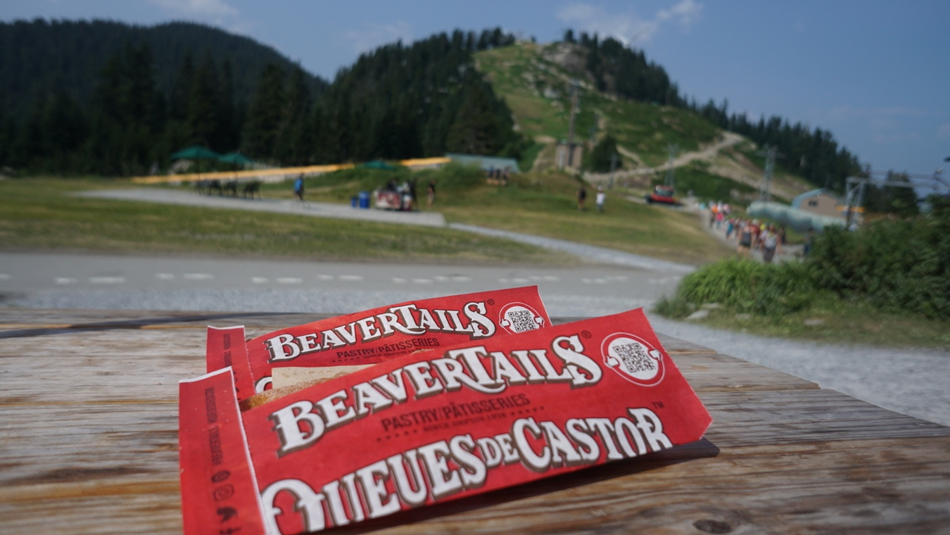 BeaverTails am Grouse Mountain.