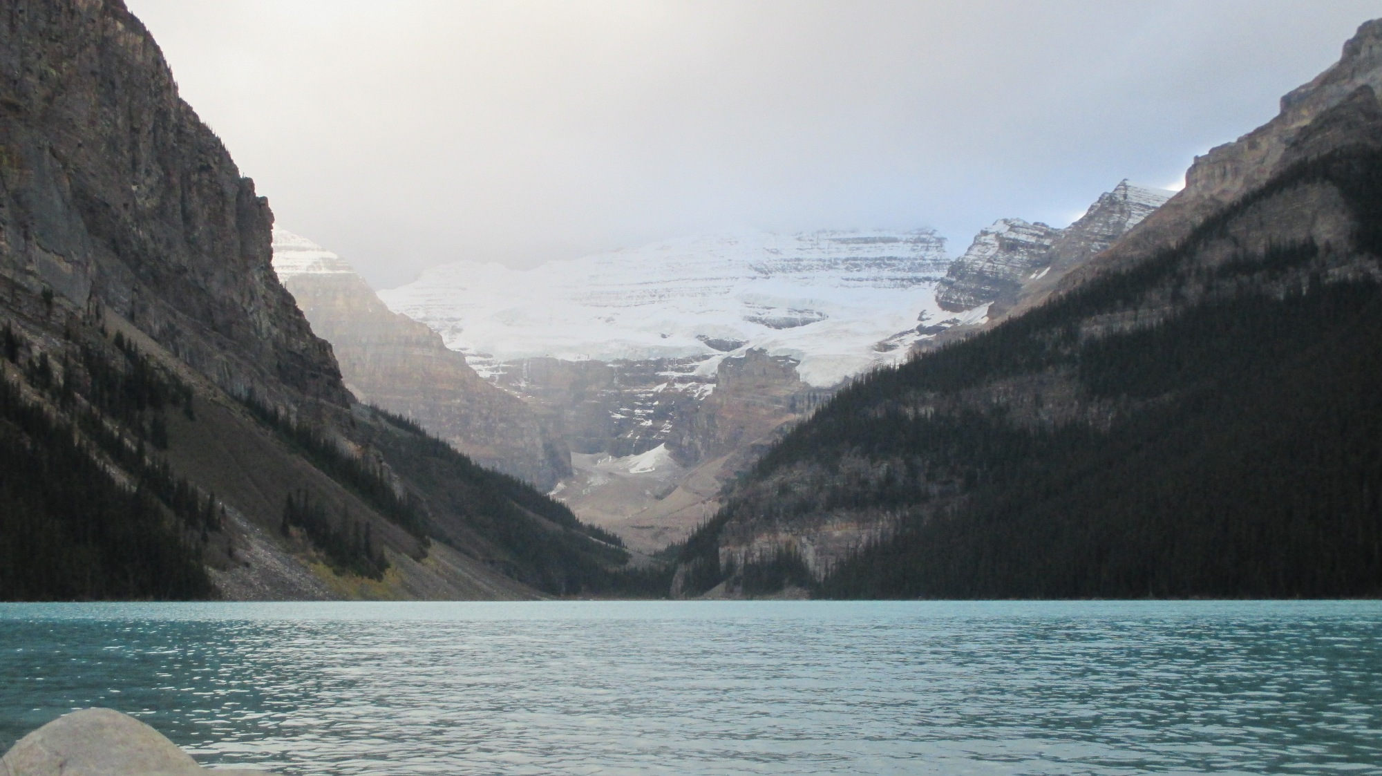 Lake Louise in den Kanadischen Rockies.