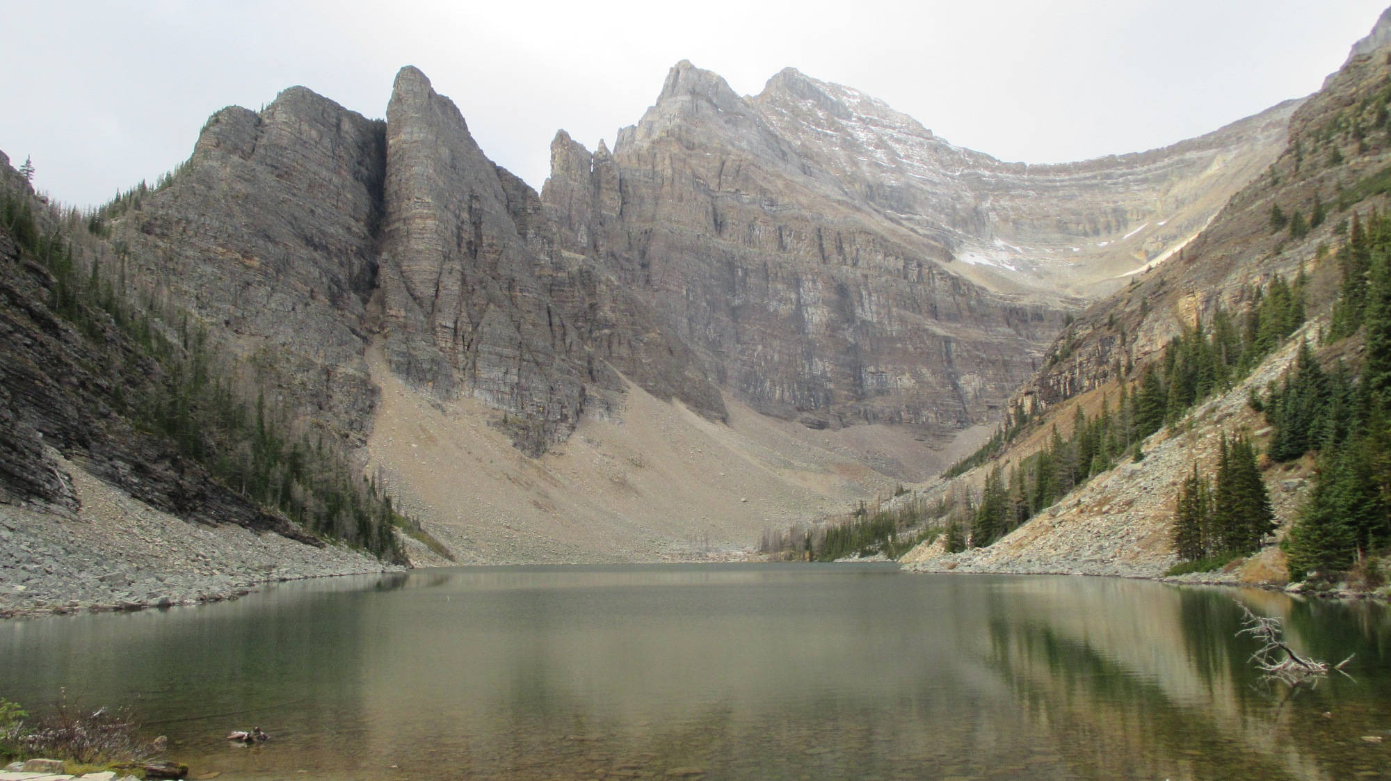 Lake Agnes in den Kanadischen Rockies.
