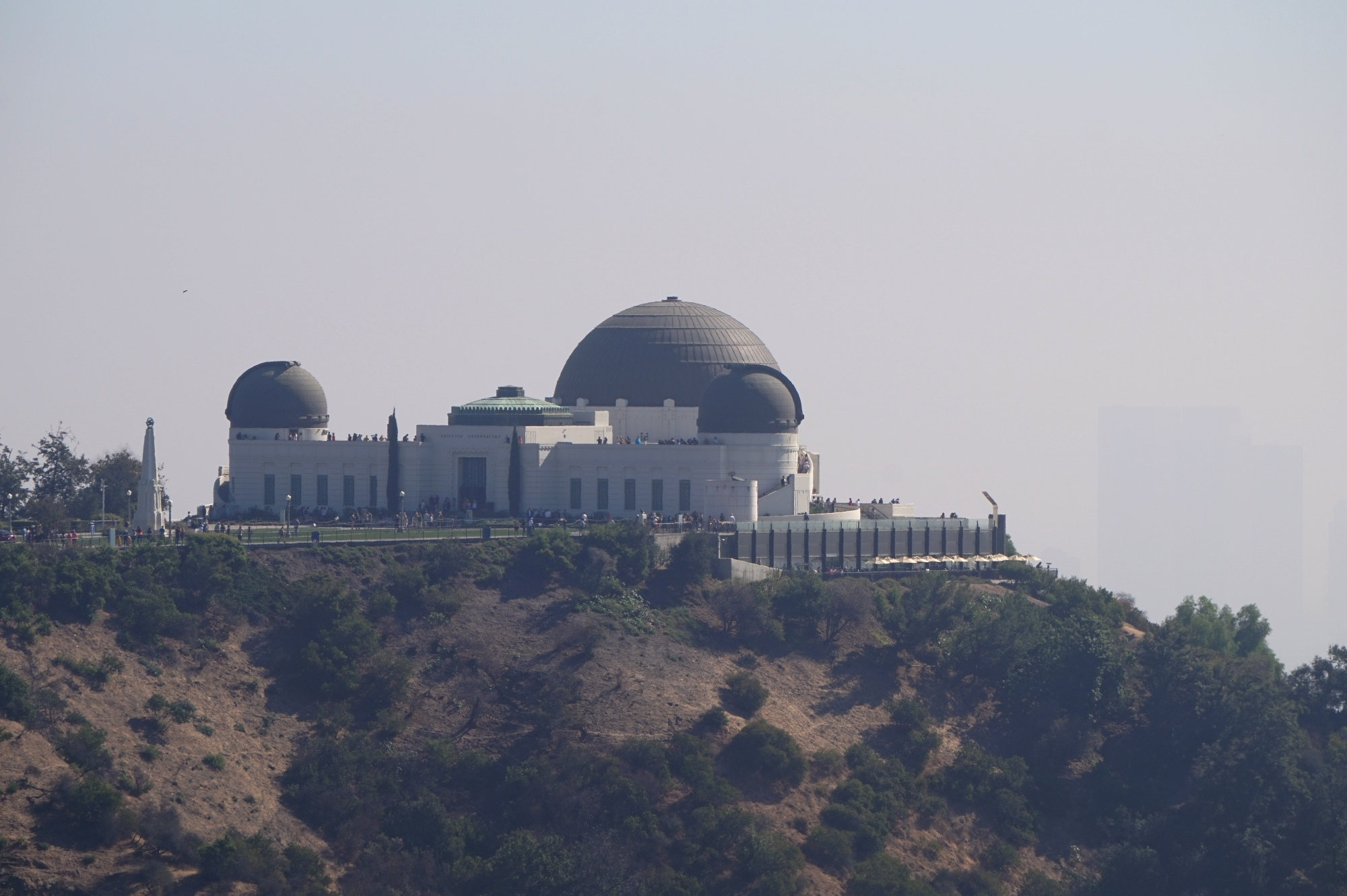 Das Griffith-Observatorium in den Hollywood Hills.