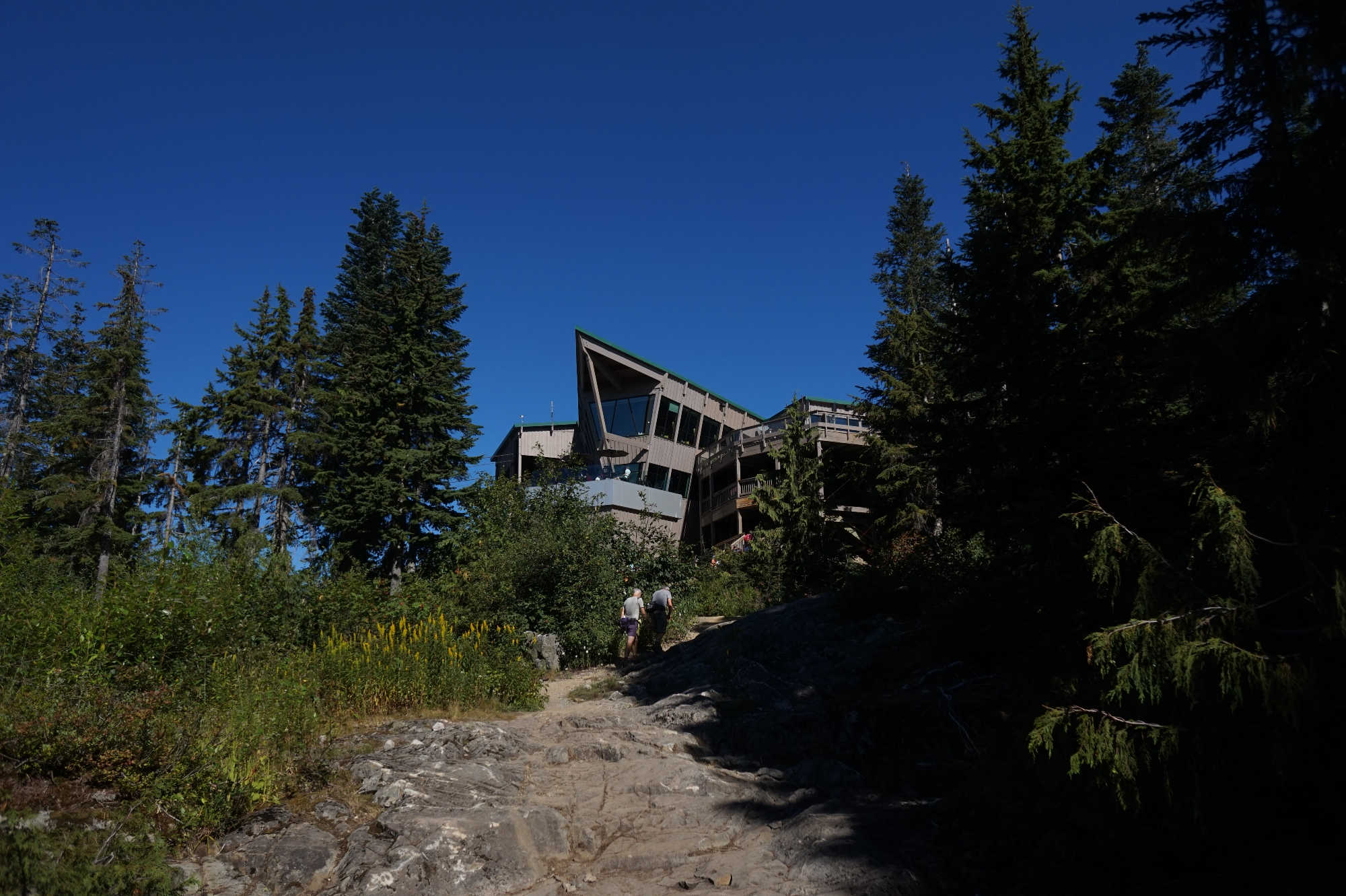 Das Peak Chalet am Grouse Mountain.