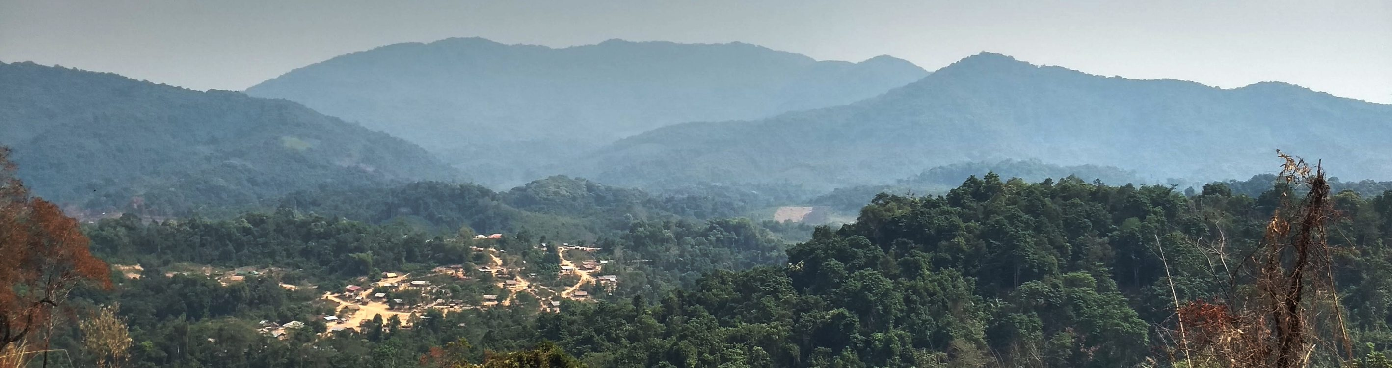 Die Nam Ha National Protected Area in Laos.